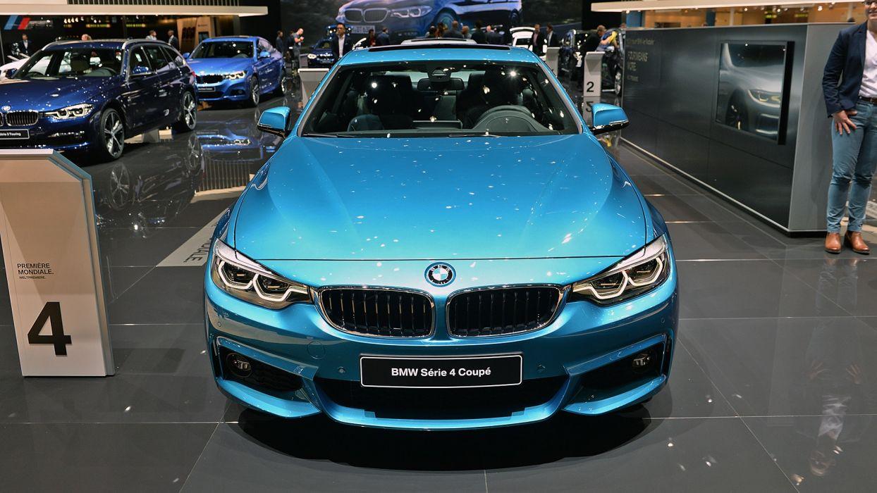 BMW 4-Series coupe Geneva auto show 2017 wallpaper