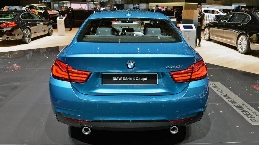 BMW 4-Series coupe Geneva auto show 2017 wallpaper