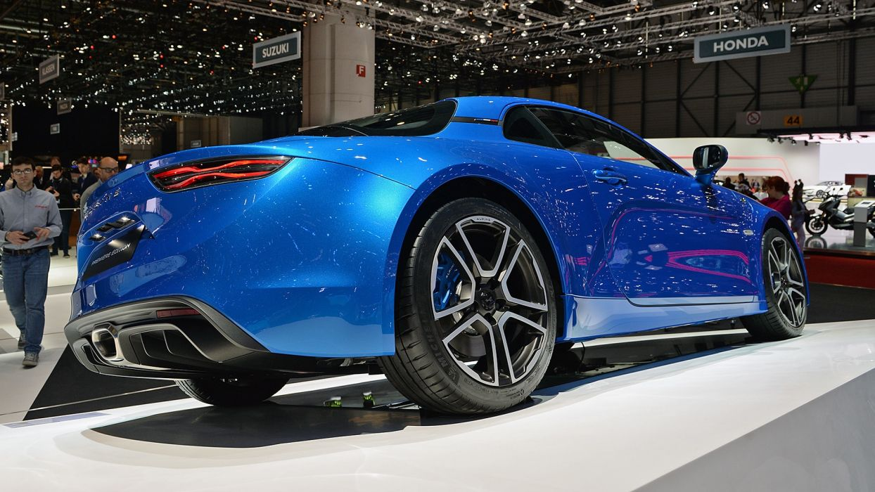 Alpine A110 auto geneva show 2017 wallpaper