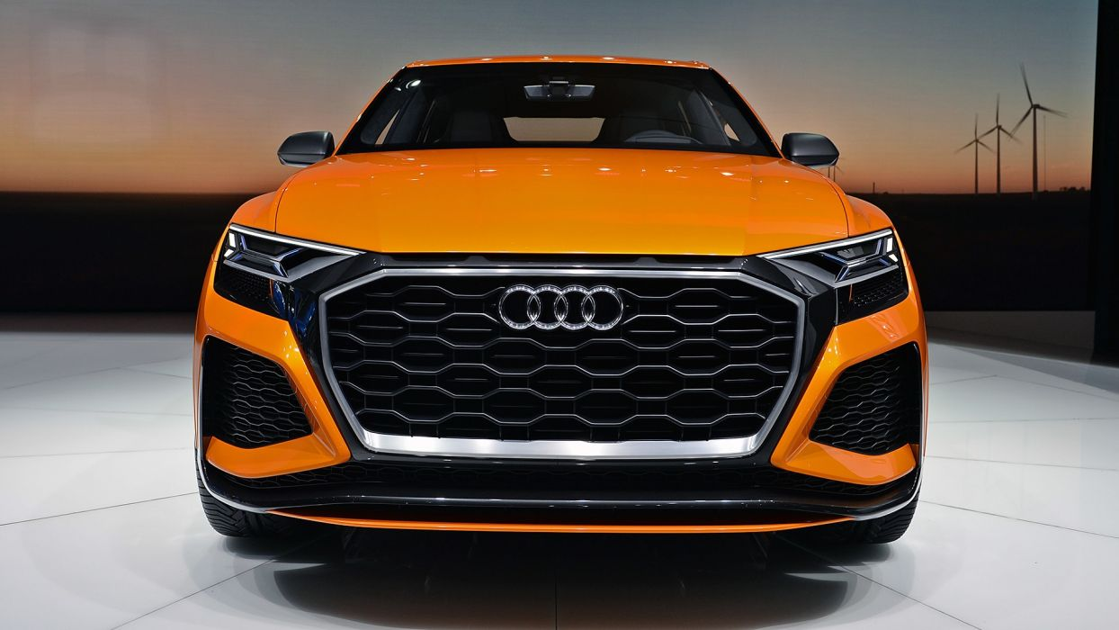 Audi (Q8) Sport Concept cars auto geneva show 2017 wallpaper
