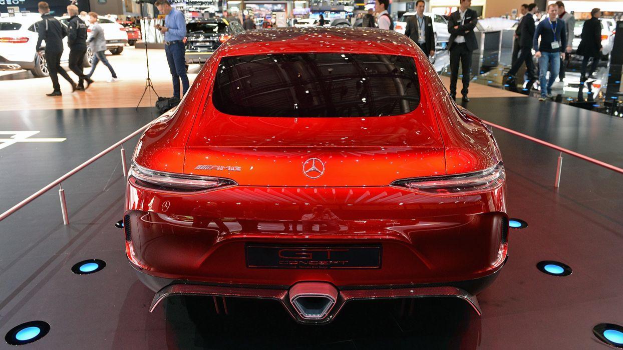 Mercedes AMG (GT) Concept cars auto geneva show 2017 wallpaper