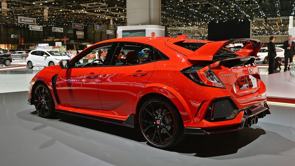 02 2018 Honda Civic Type R Geneva 1 Wallpaper 1920x1080