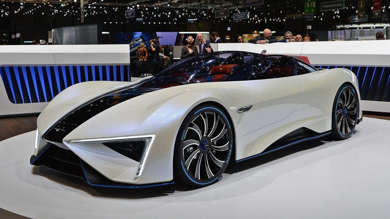 Techrules Ren Concept 2017 auto cars geneva show wallpaper