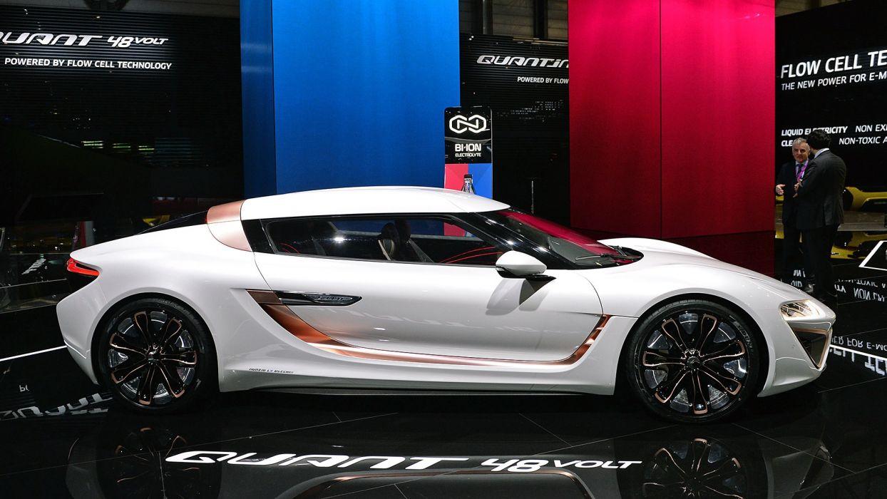 nanoFlowcell Quant 48Volt Concept 2017 auto cars geneva show wallpaper