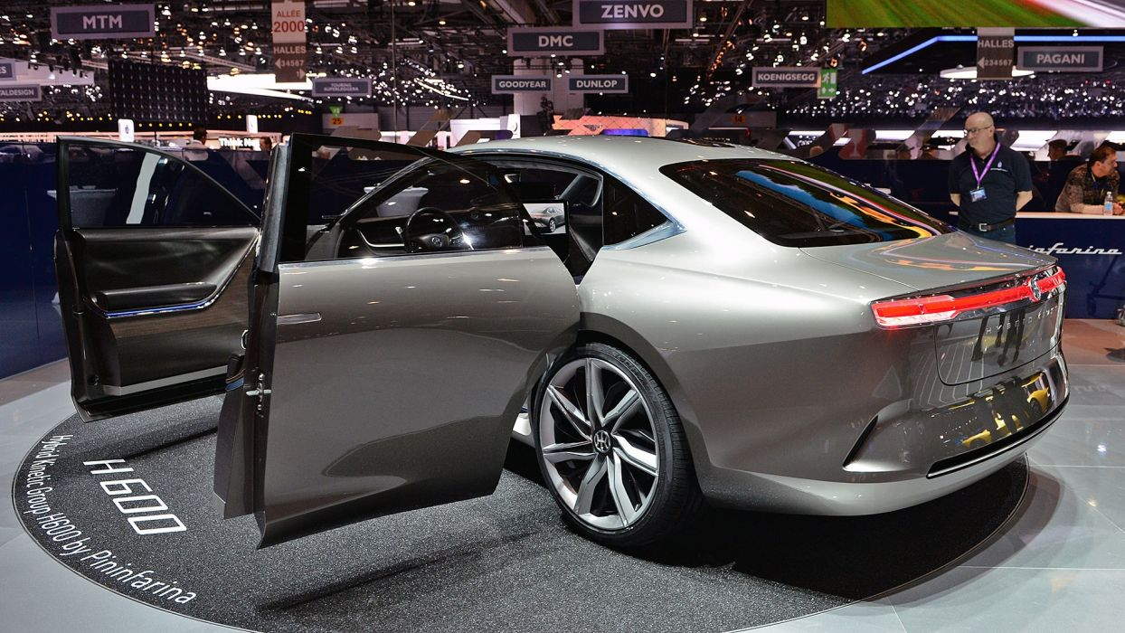 Pininfarina H600 Concept 2017 auto cars geneva show wallpaper