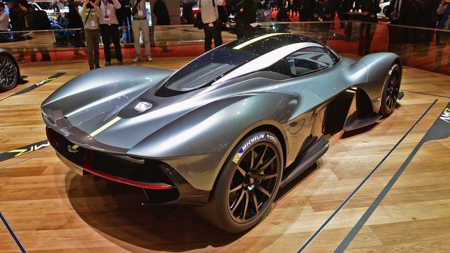 Aston Martin Valkyrie 2017 auto cars geneva show wallpaper