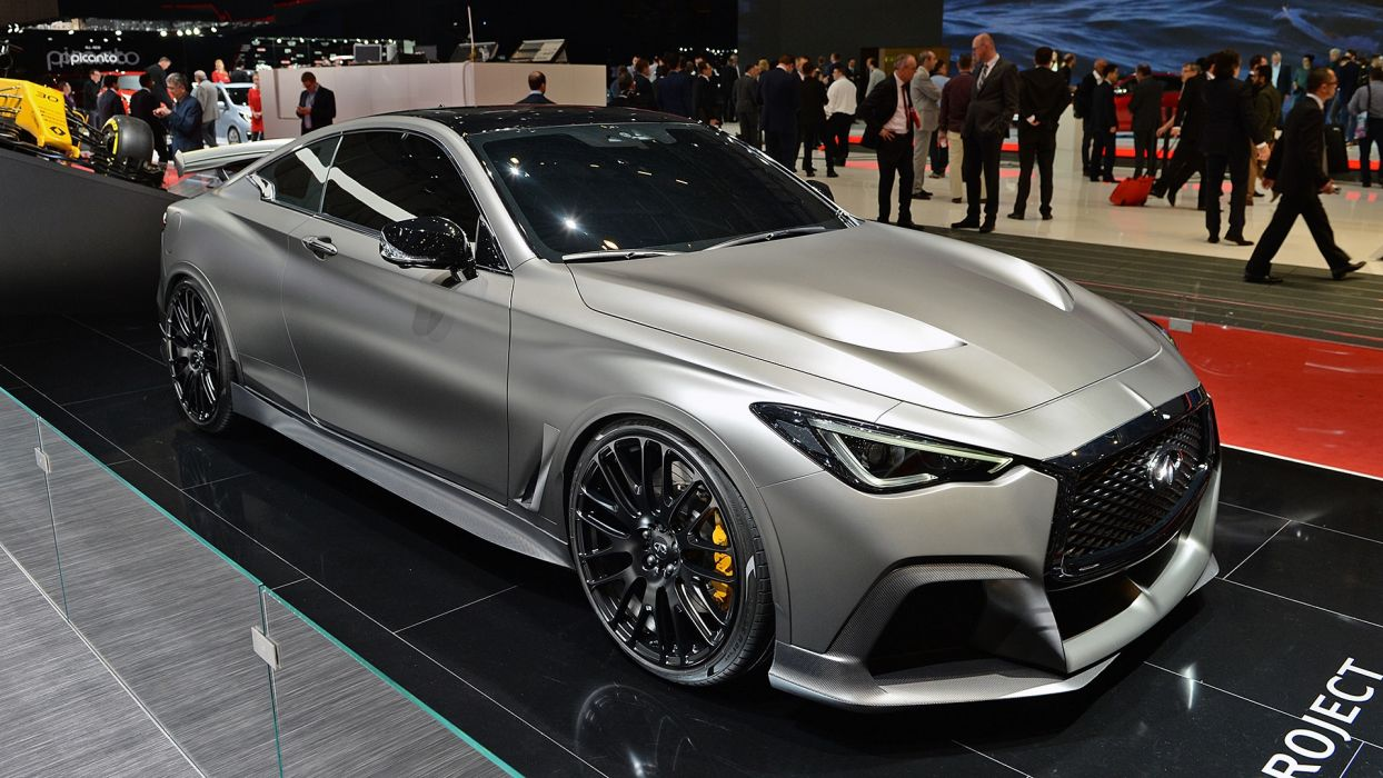 Infiniti Project Black-S 2017 auto cars geneva show wallpaper