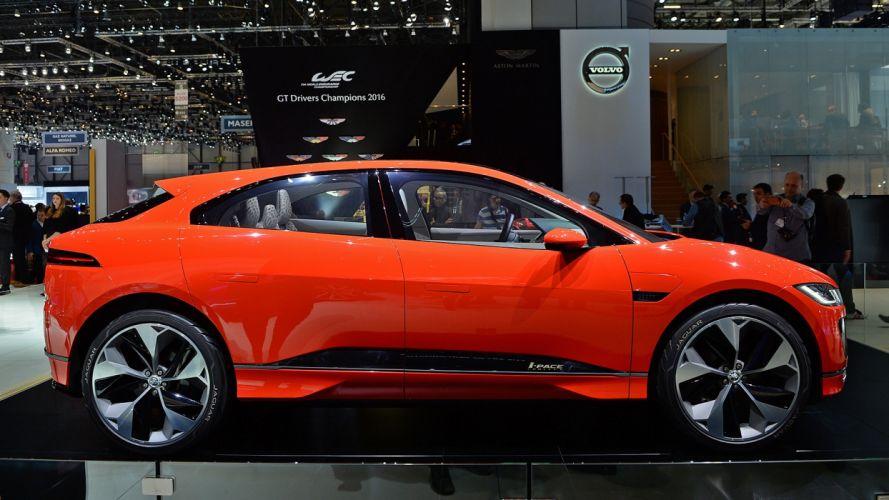 Jaguar I-PACE Concept 2017 auto cars geneva show wallpaper