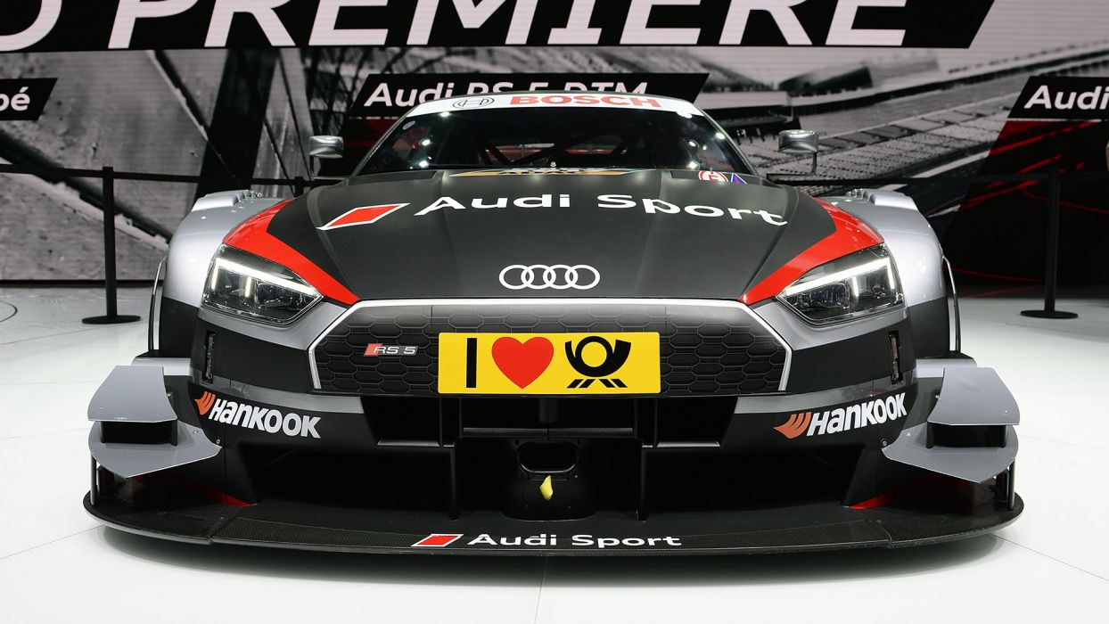 Audi RS5 DTM 2017 auto cars geneva show wallpaper