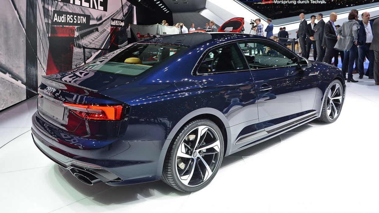 Audi RS5 coupe 2017 auto cars geneva show wallpaper