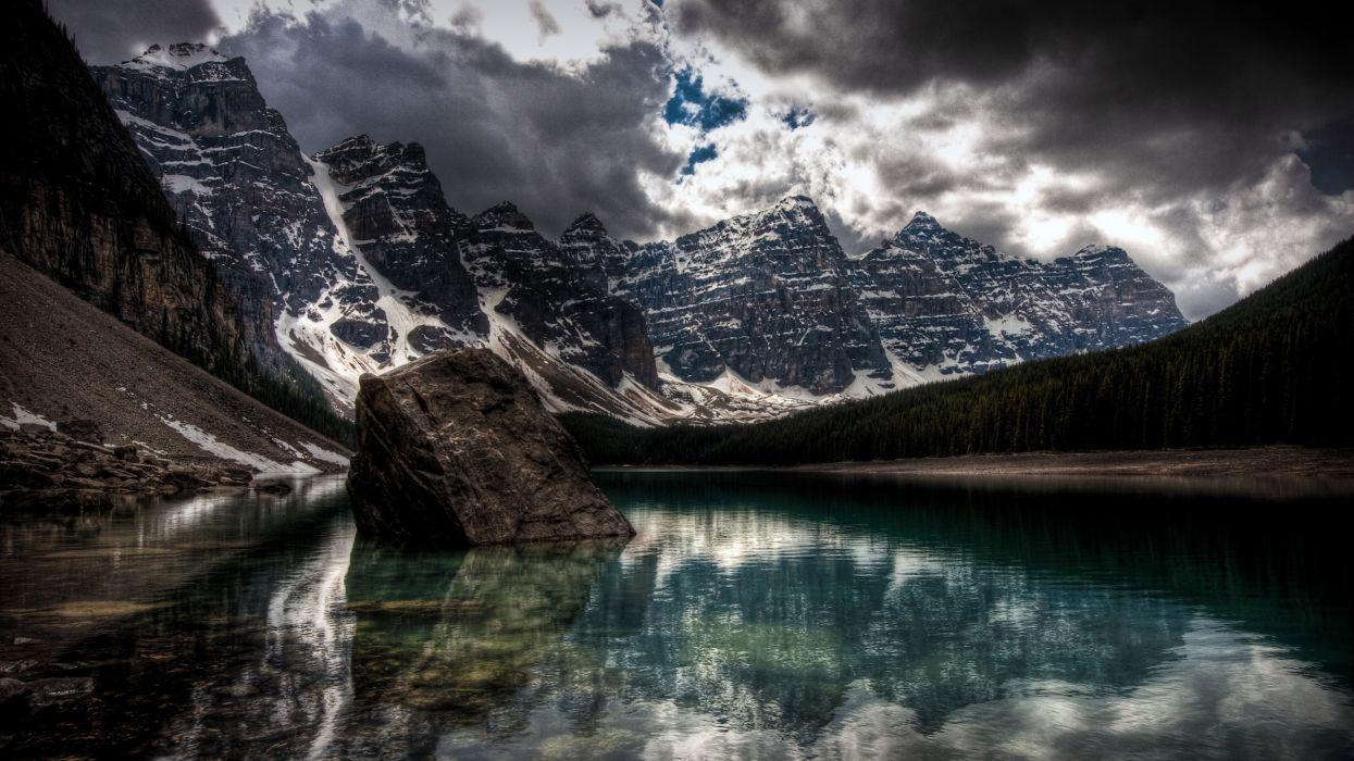 lago montay wallpaper