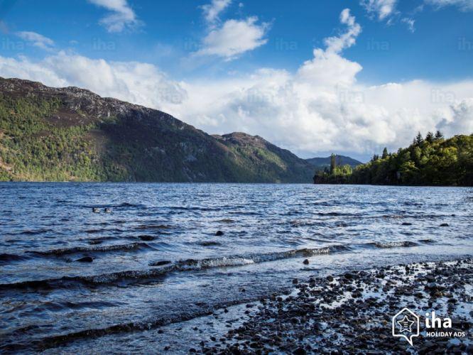 Lago ness escocia montay wallpaper