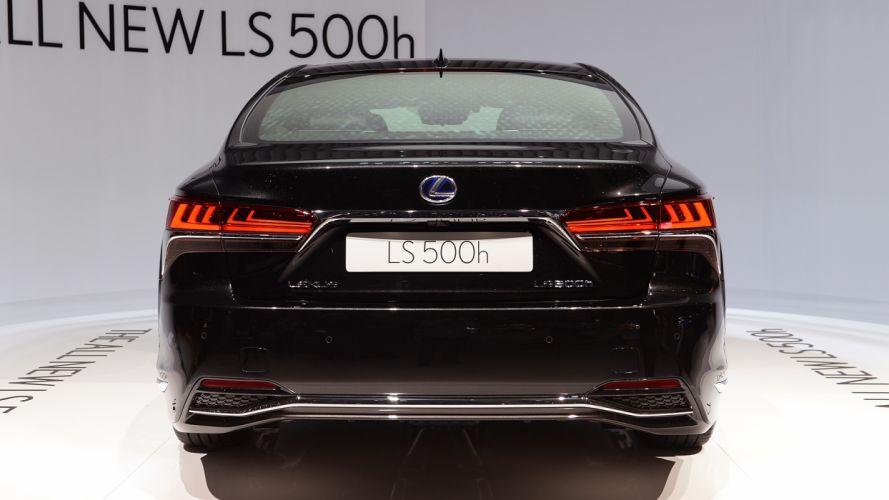 Lexus (LS) 500h geneva auto cars show 2017 wallpaper
