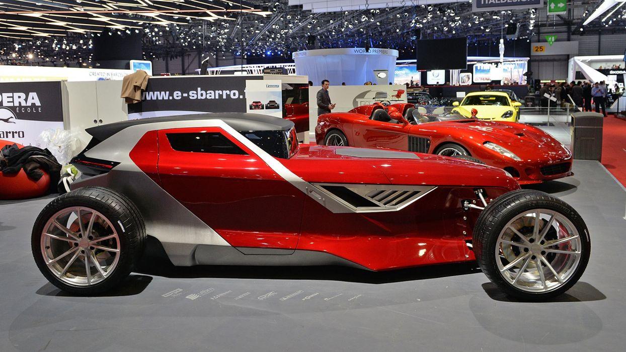 Sbarro Mojave geneva auto cars show 2017 wallpaper