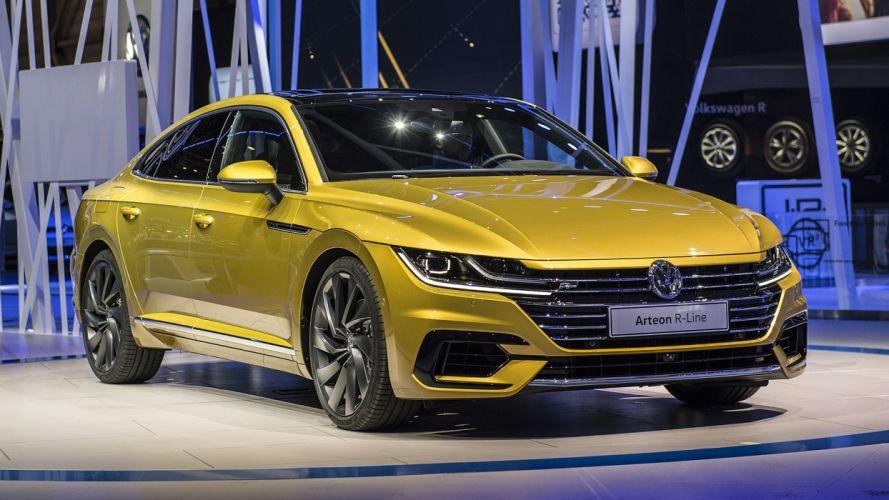 Volkswagen Arteon geneva auto cars show 2017 wallpaper