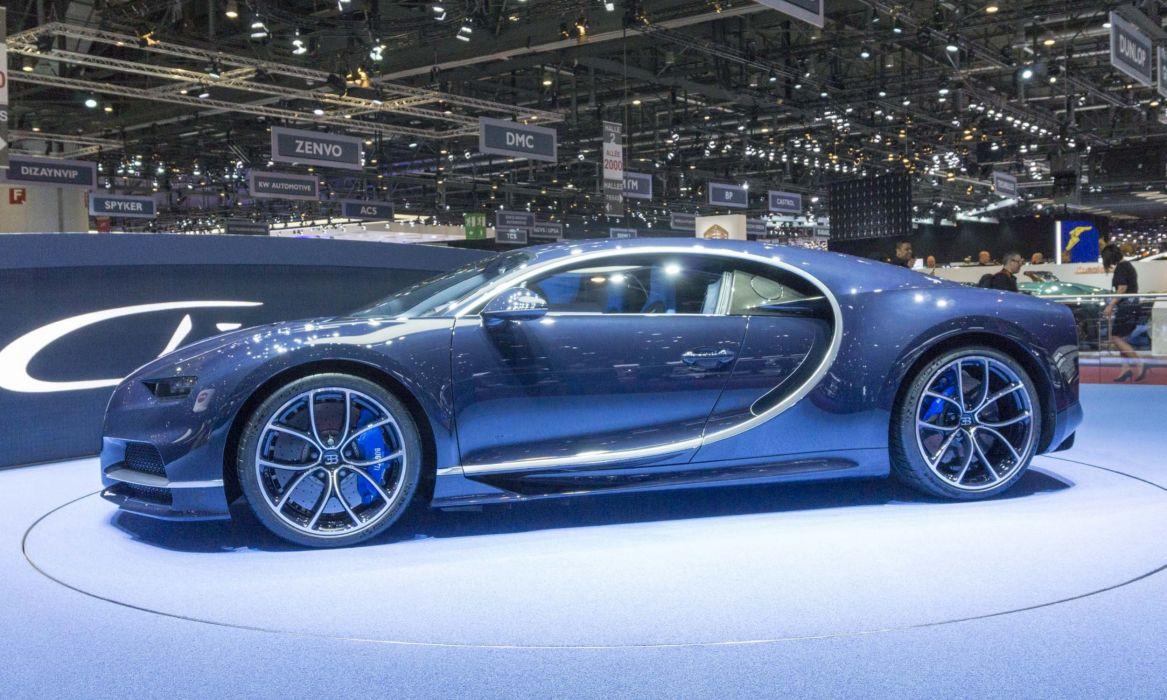 Bugatti Chiron 2017 GENEVA MOTOR auto SHOW wallpaper