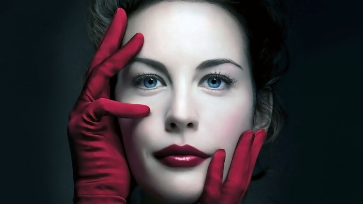 FACE Liv Tyler-actress-girls-glove wallpaper