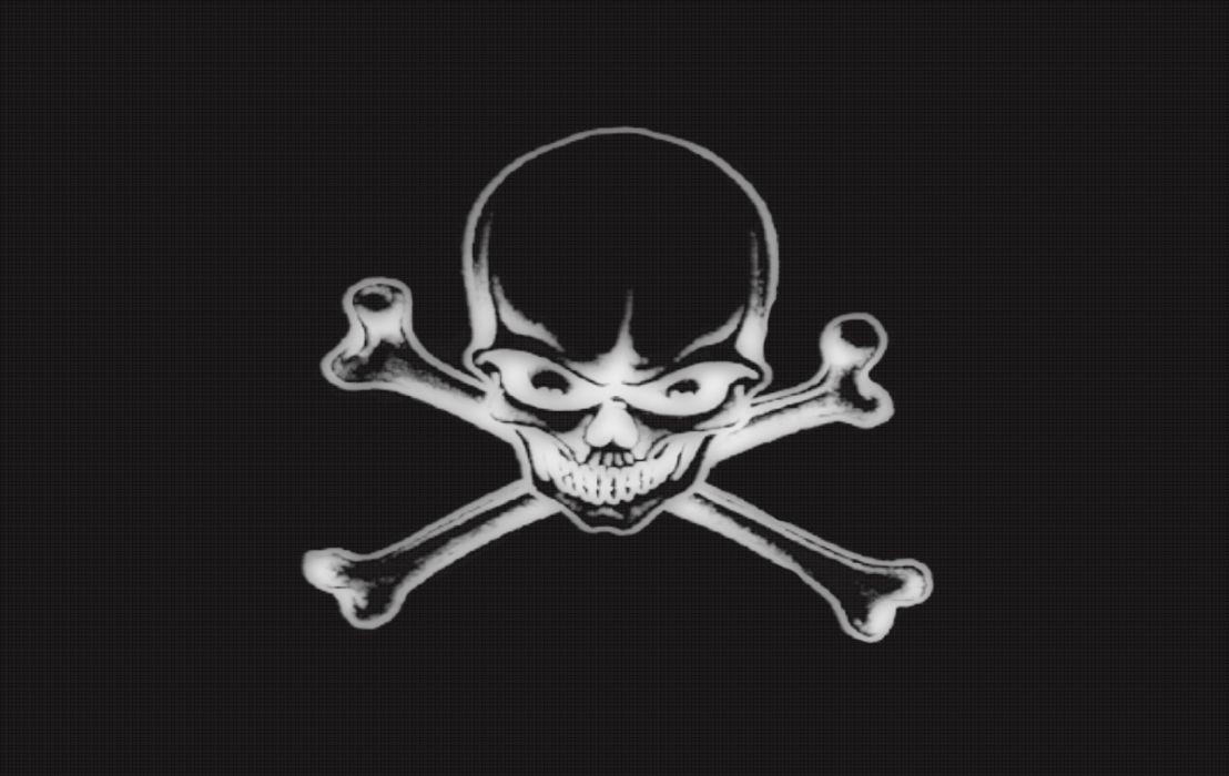 Evil Skull wallpaper