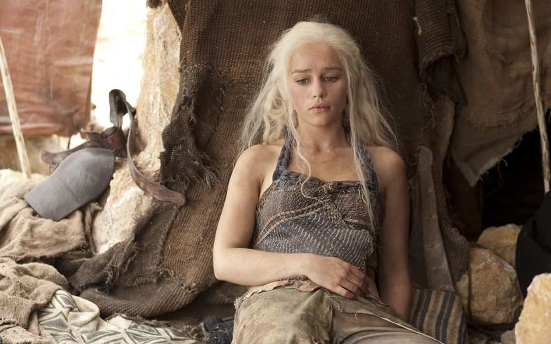 SERIES game of thrones-Emilia Clarke-Daenerys Targaryen wallpaper