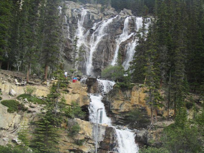 cascadas rio naturaleza wallpaper