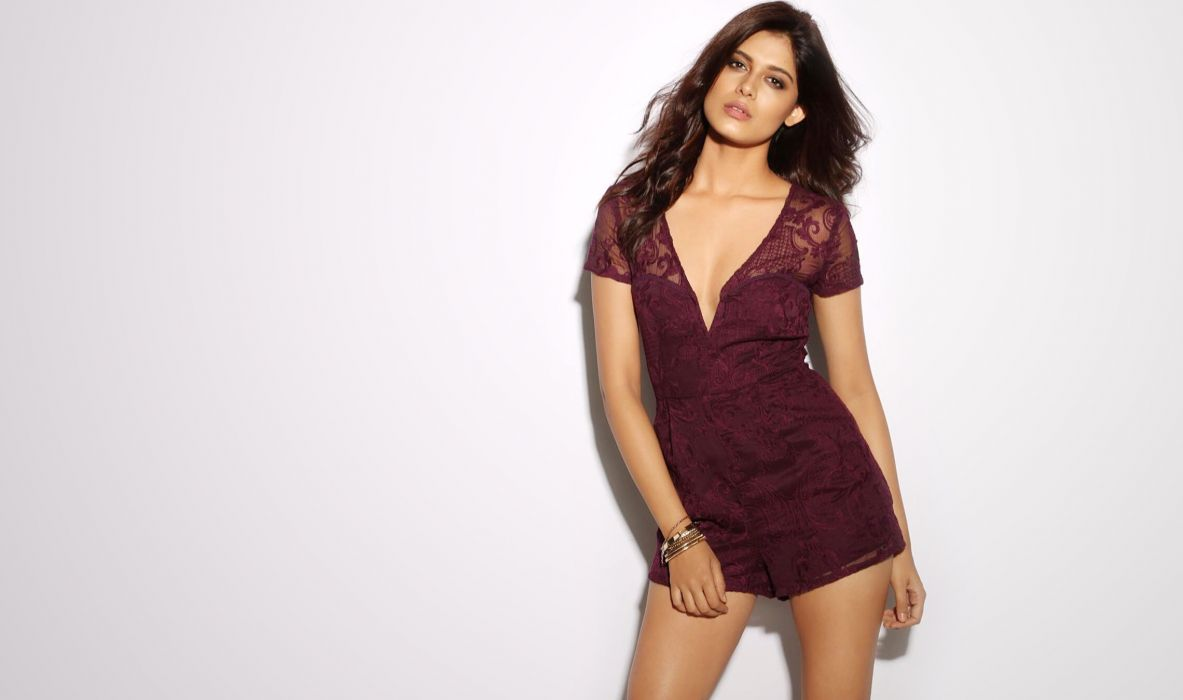 asha bhat bollywood actress celebrity model girl beautiful brunette pretty cute beauty sexy hot pose face eyes hair lips smile figure indian wallpaper