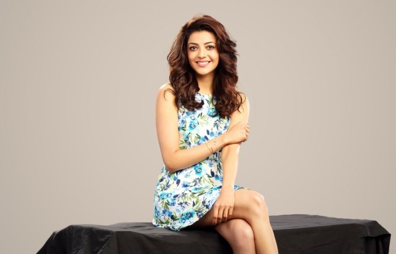 kajal agarwal bollywood actress celebrity model girl beautiful brunette pretty cute beauty sexy hot pose face eyes hair lips smile figure indian wallpaper