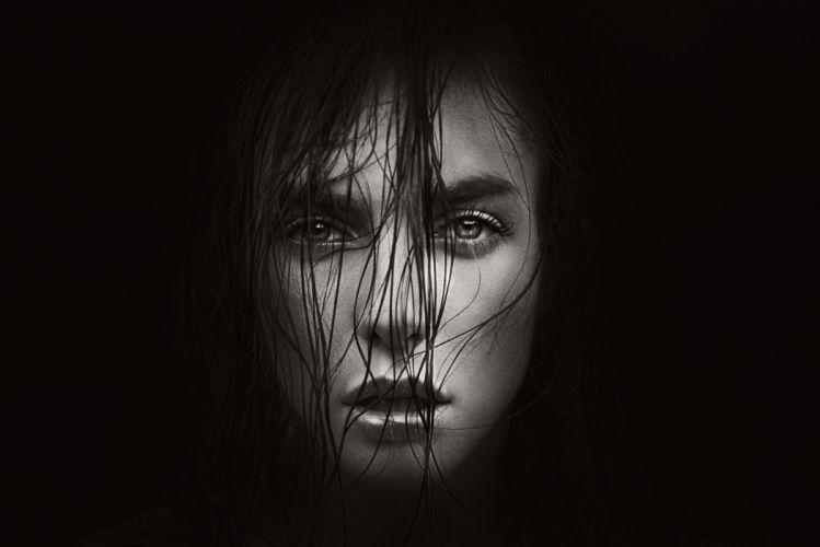 FACES victoria-curls-portrait-darkness wallpaper