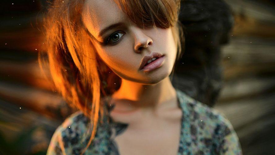 SENSUALITY Anastasia Shcheglova-girls-sexy-women-model-lips-blonde-tattoo wallpaper
