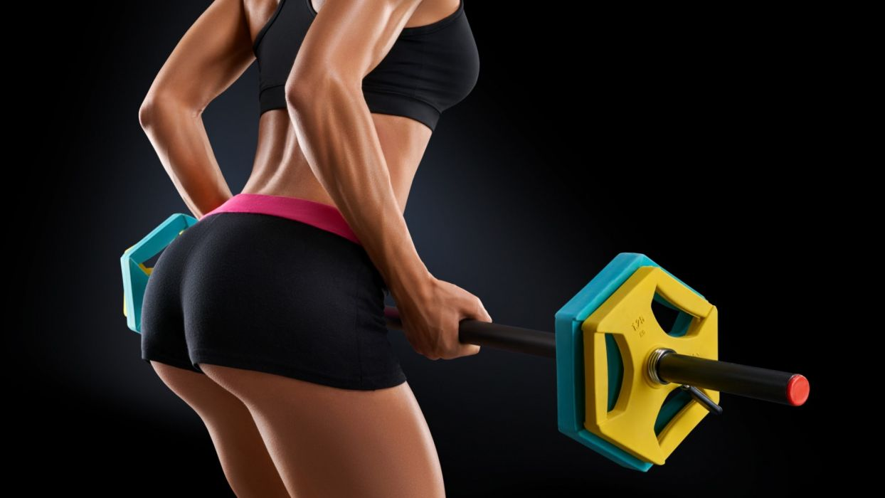 SPORTS girls-sexy-women-model-dumbbells-fitness-exercise-arm wallpaper
