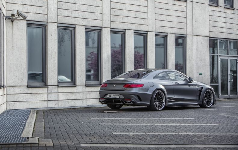 Mercedes Benz S-Class Coupe widebody Prior Design cars modified 2017 wallpaper