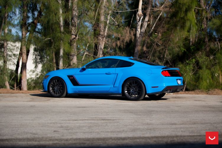 Roush Stage-3 ford mustang Vossen wheels cars wallpaper
