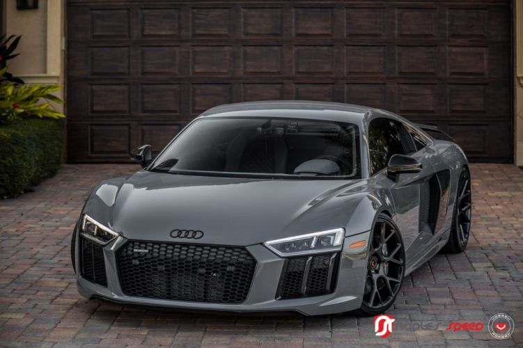 Audi (R8) Vossen wheels cars wallpaper