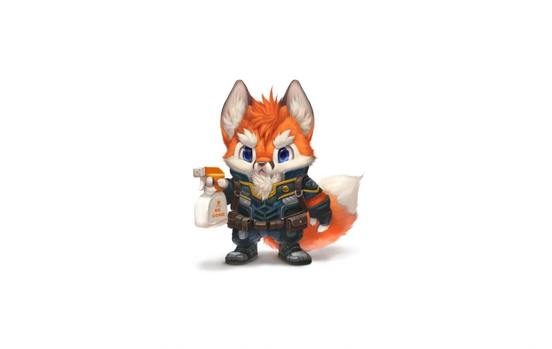 Bad Fox wallpaper