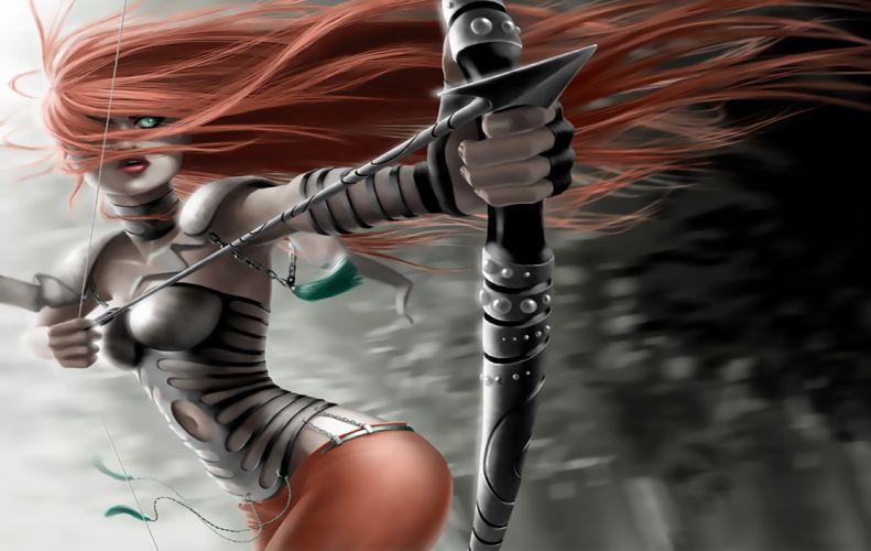 She Archer wallpaper