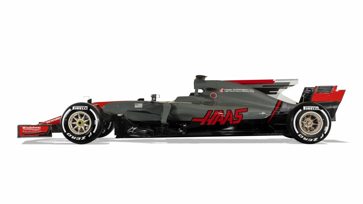 Haas VF-17 2017 Formula One wallpaper