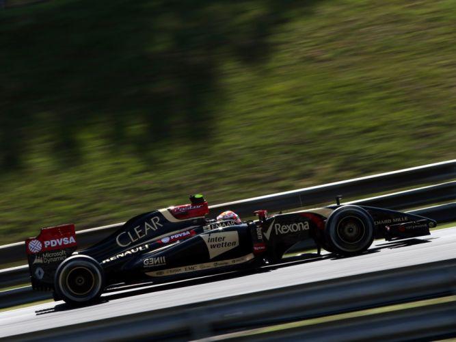 Lotus E22 2014 Formula One wallpaper