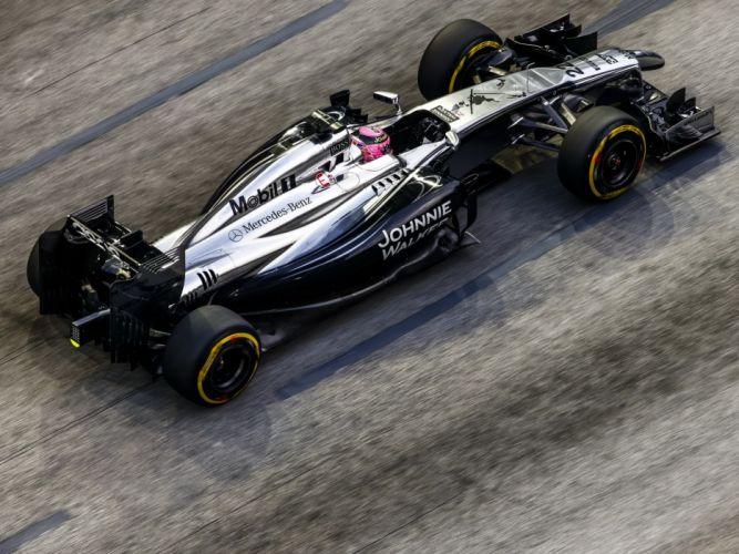 Mclaren-Mercedes MP4-29 2014 Formula One wallpaper