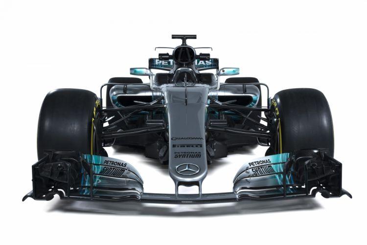Mercedes AMG Petronas W08 EQ Power+ Formula One wallpaper