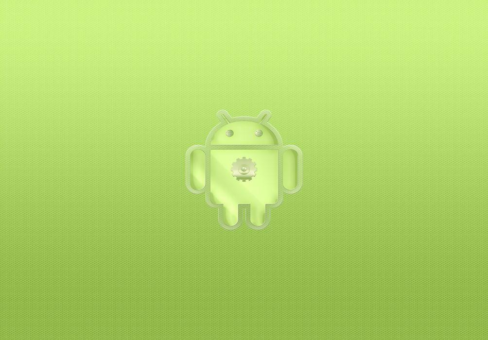 Retro Android Green wallpaper