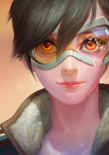 overwatch joo+yann+ang original fantasy art women face wallpaper