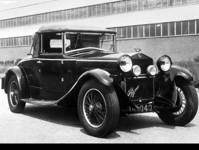 Alfa Romeo 6C 1500 Sport 1928 coche wallpaper