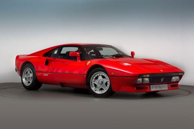 Ferrari 288 GTO cars 1985 red wallpaper