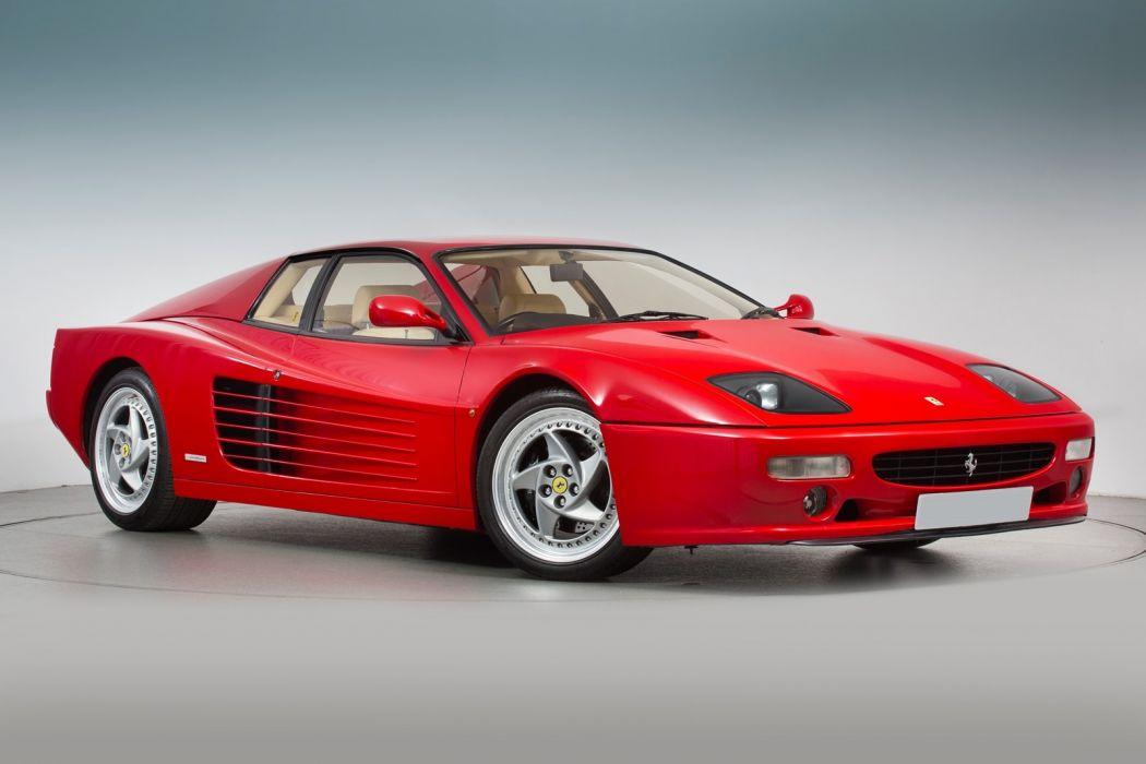 Ferrari F512-M cars red 1996 wallpaper