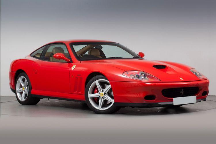 Ferrari 575M Maranello cars 2003 wallpaper