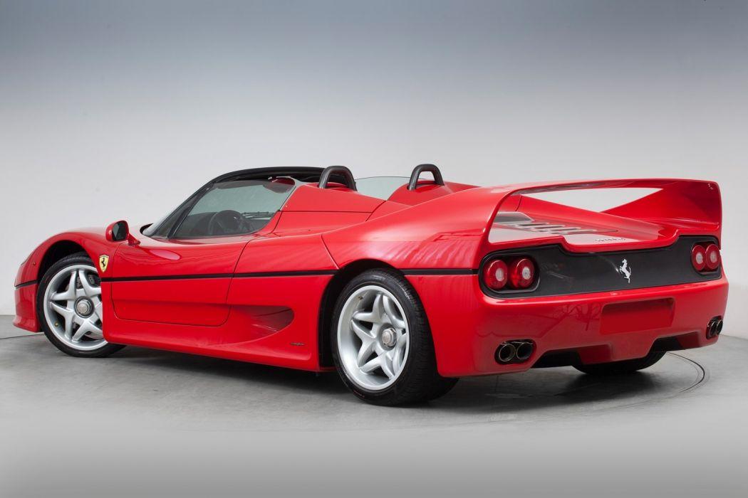 Ferrari F50 cars 1996 wallpaper