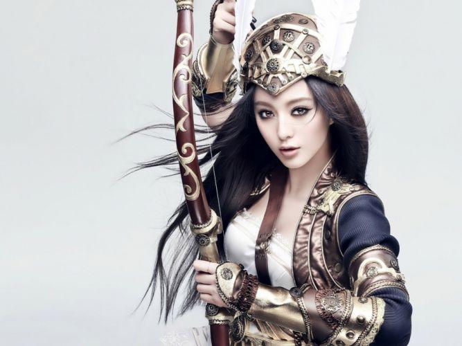 Cosplay girls-women-bow-princess wallpaper