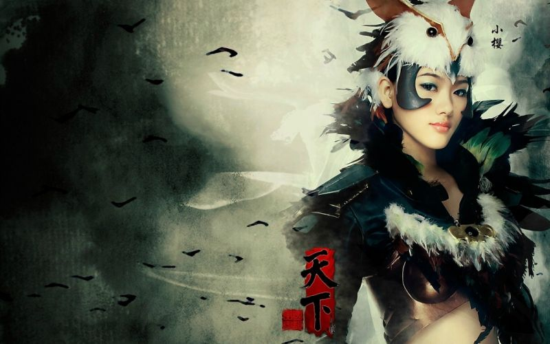 Cosplay girls-women-nipon-princess wallpaper