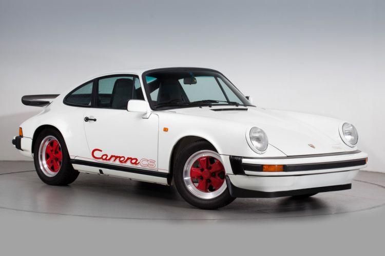 Porsche 911 Club Sport cars 1988 wallpaper