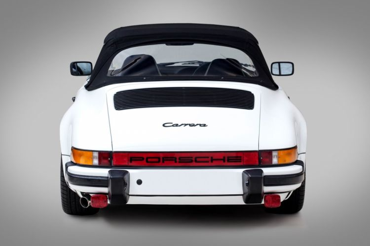 Porsche 911 Carrera Cabriolet cars 1984 wallpaper