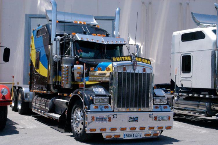 camion trailer americano wallpaper